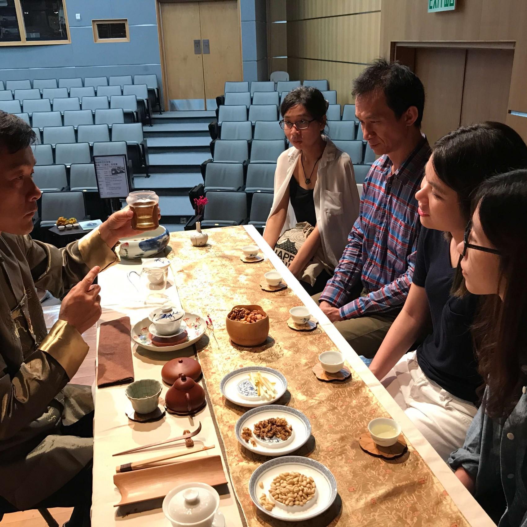 中國茶文化國際交流協會 歷史博物館 三清茶品茗會