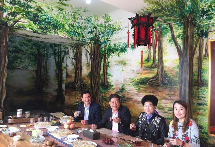 中國茶文化國際交流協會 吳志斌 辣木茯茶 周海英 咸陽市供銷社 茯茶辦 陳富民