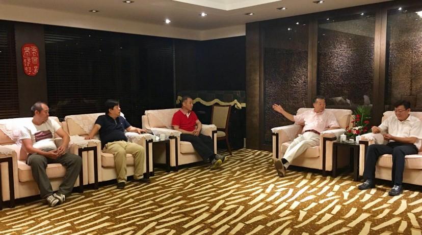 中國茶文化國際交流協會 張國良 吳志斌 林旭陽