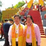 (右起)本會常務副會長吳志斌、新昌縣委常務副縣長柴理明