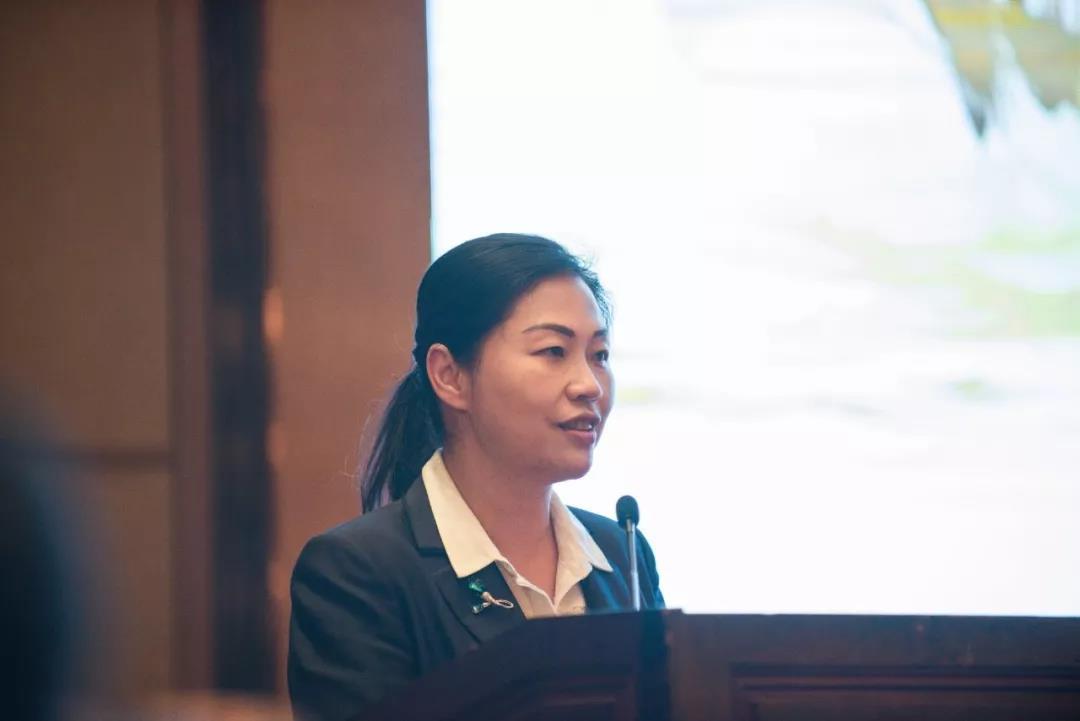 ▲梧州市副市长苏颖致辞