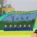 2019茅山長青茶文化節現場