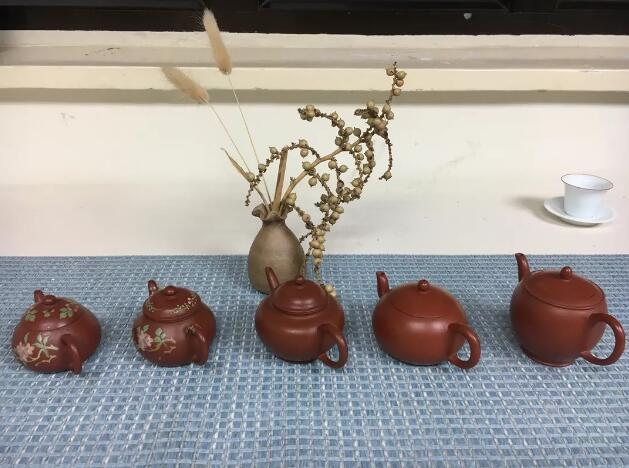 茶友帶來交流的紫砂壺
