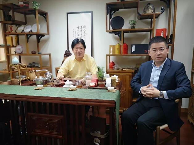 左為本會常務副會長吳志斌、右為蔣同